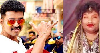 Vijay's reaction: Yogi Babu's 'Sarkar'getup video