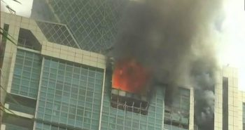 Fire broke out in Crystal Tower Mumbai