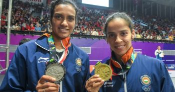CM proud after PV Sindhu and Saina victory