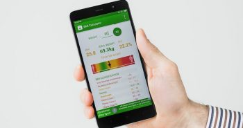 Check your weight using Android App