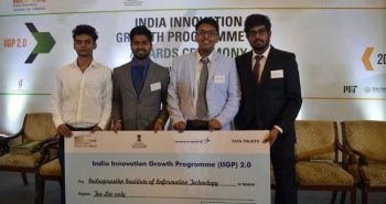 IIIT students Innovation project; Rs10 lakh Fund
