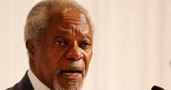 Kofi Annan – former UN chief passed away