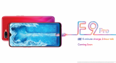 OPPO F9 launch waterdrop screen design
