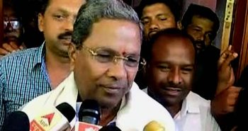 Siddaramaiah CM for the second consecutive term