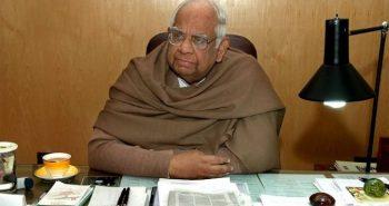Former Lok Sabha speaker passed away