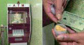Lord Ganesha ATM; insert card get 'Modak'