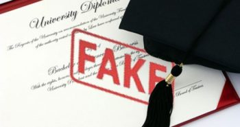 Shocking! Academy of fake degrees issued