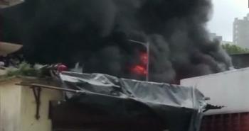 Fire accident in Mumbai