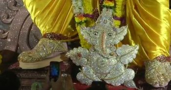 Ganesh Chaturthi: Diamond-studded idols