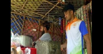 Asian Games medallist Harish sells tea