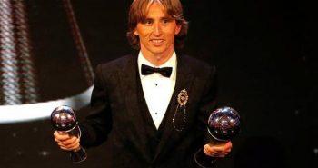 Best FIFA Player Award: Luka Modric