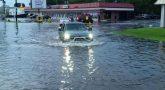 Western Mexico: Heavy rain, flooded areas