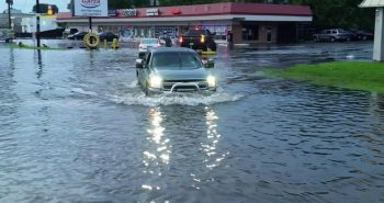 Western Mexico: Heavy rain, flooded areas