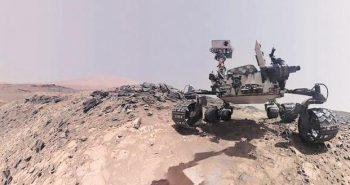 NASA said Curiosity rover captures panoramic view