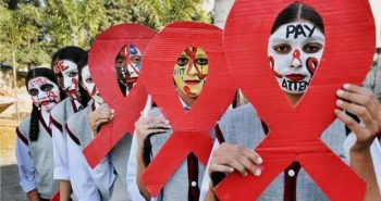 Rs 1 lakh fine; people living HIV/AIDS