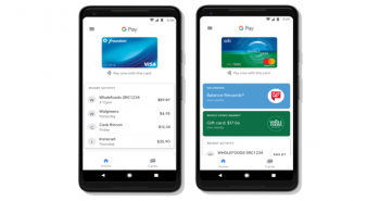No wallet; To pay using Google pay App