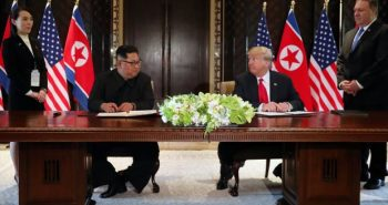 US-Korea agreement signing?
