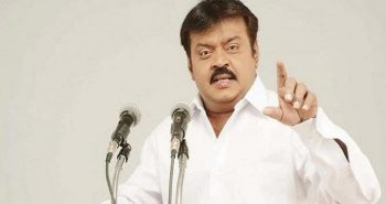 Captain Vijayakanth admitted in Hospital