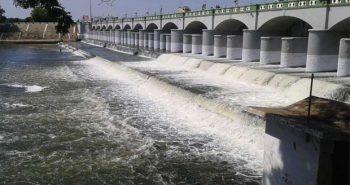Krishna water dribble into Poondi reservoir