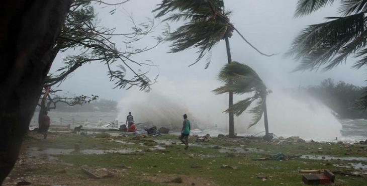 Rainfall in coastal: Storm cross Andhrapradesh