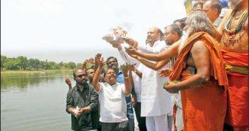 Maha Pushkara Festival:Special Abhishekam