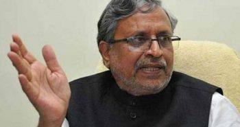 Bihar: Sushil Modi spent Rs 1.19 Lakh Cr