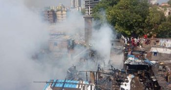 Fire broke out in Mumbai's Bandra
