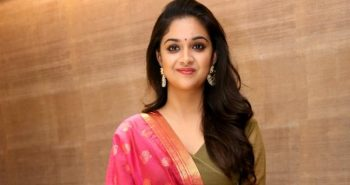 Actress Keerthy Suresh celebrates birthday