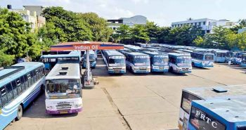 Puducherry: Bus strike in second day