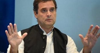"Rahul Gandhi said ""waived All farmers loan"""