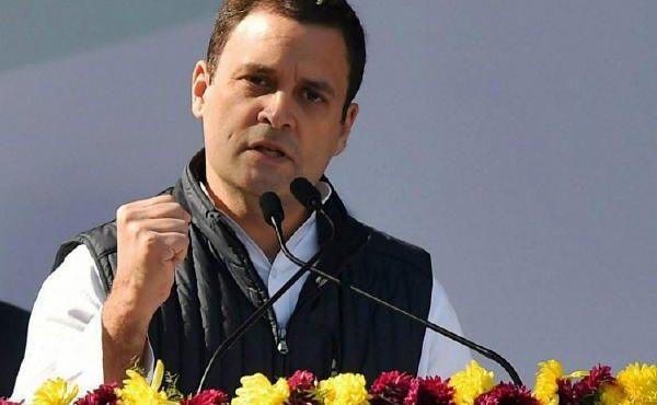 Congress President addresses a Rally at Arunachal