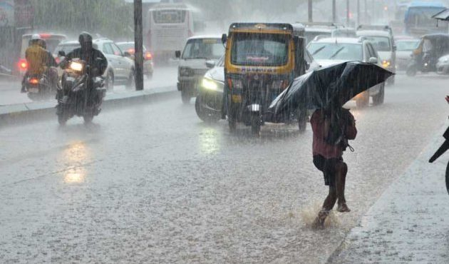 Expected heavy rainfall on November 14