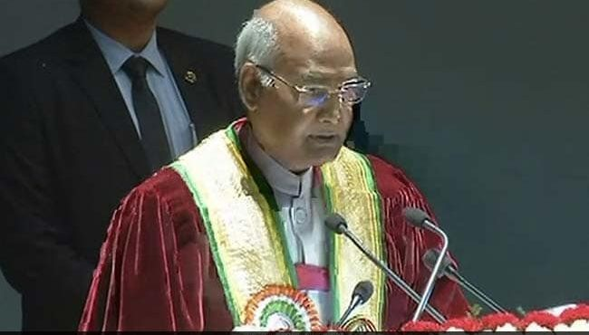 Pune: President Ramnath attend 15th convocation Day