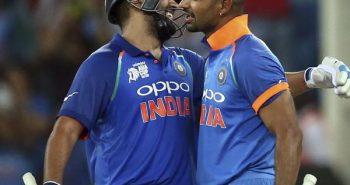 Rohit and Dhawan rise Top ranking in ICC ODI