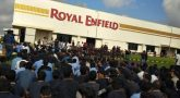 Royal Enfield employees start protest