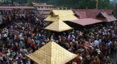 Protest against allow women in Sabarimala