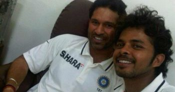 Sreesanth excited moment! After sachin speech