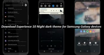 Samsung introduced Experience 10 Theme