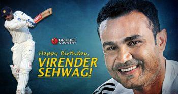 Virender Sehwag celebrated birthday
