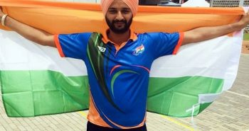 Asian para games: Harvinder Singh receive gold