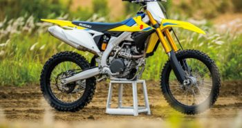 Suzuki RM-Z450 launched off-road bikes