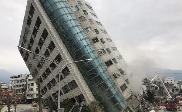 Powerful earthquake in Taiwan