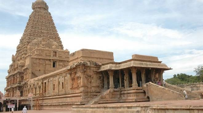 Thanjavur Big temple statue Inspection