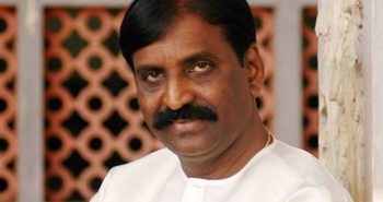 Vairamuthu give Responds to singer Chinmayi