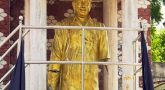 Anna statue removed in anna arivalayam