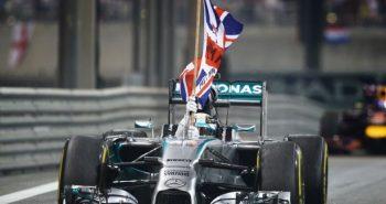 Hamilton won championship in Abu Dhabi