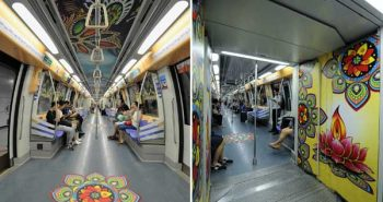 Chennai Metro deepavali festival celebration