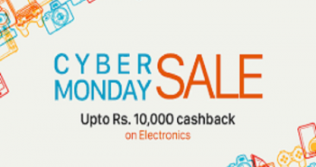 Paytm announced CyberMonday Sale offers