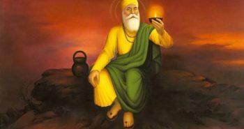 Guru Nanak Devji's birth anniversary!