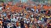 100 Farmers start protest on new delhi